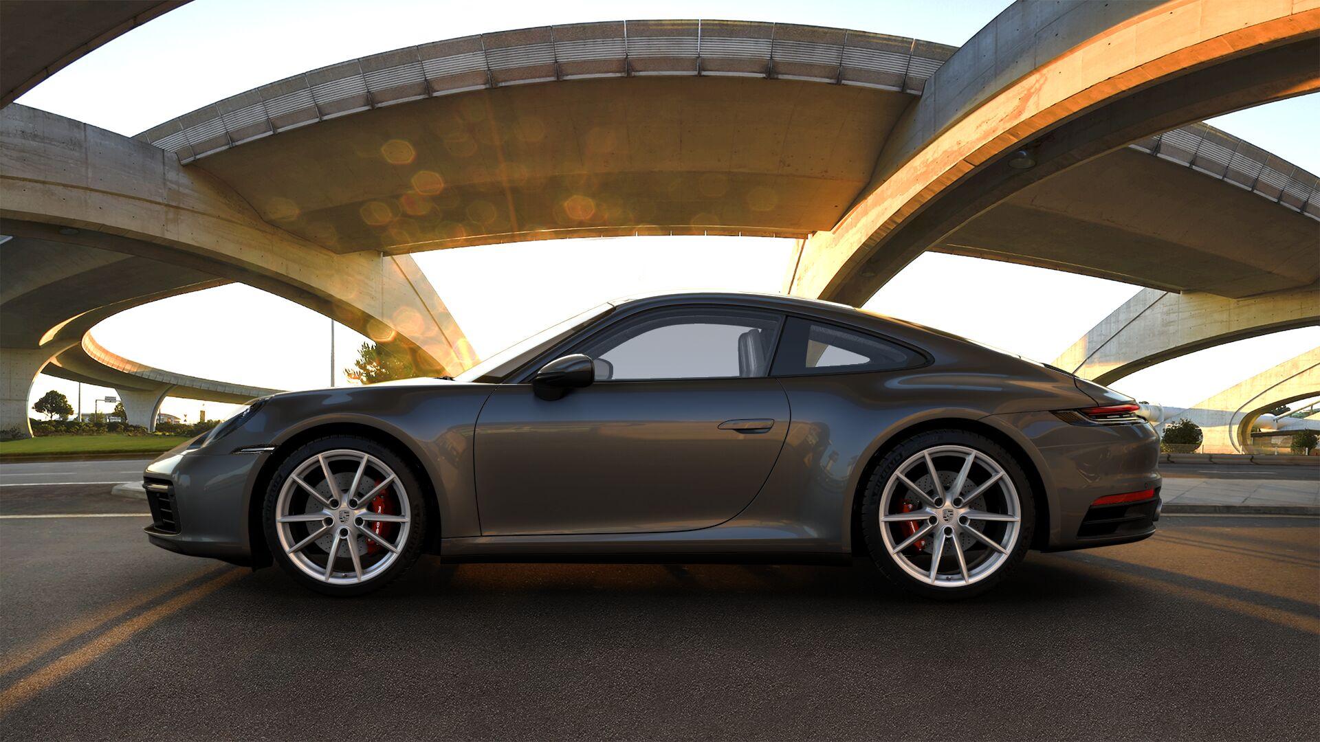 Black Metallic Wallpaper Agate Grey 2020 Porsche 911 Looks Understated In Real