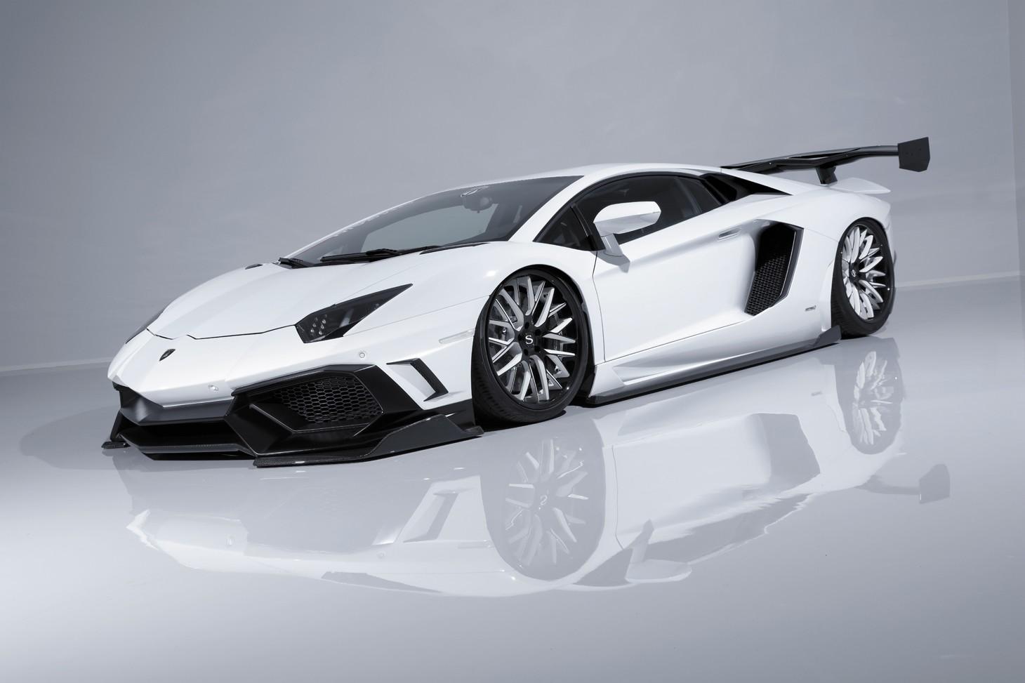 Widebody Drift Car Wallpaper Aimgain Gt Lamborghini Aventador Is From Japan Autoevolution