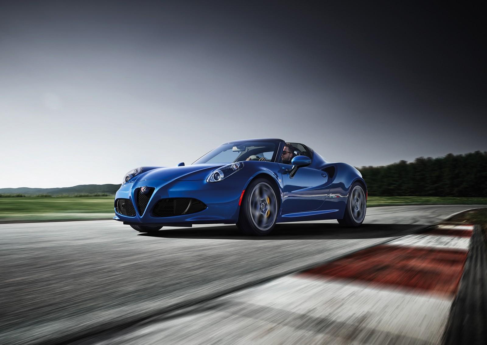 Car Lineup Wallpaper 2018 Alfa Romeo 4c Receives Competizione And Italia