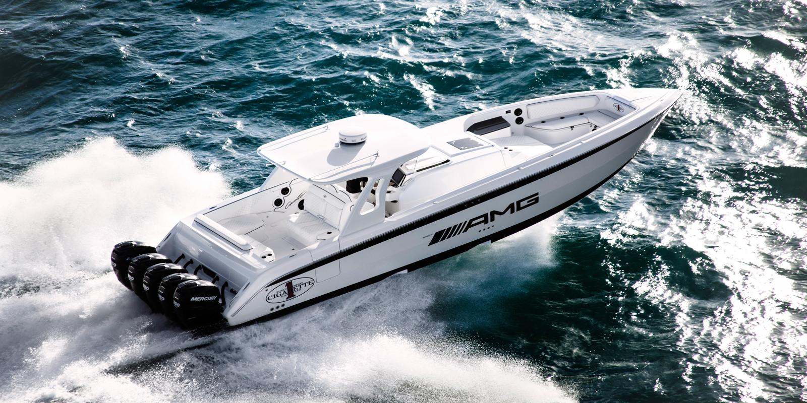 Cigarette Wallpaper Hd Amg 42 Huntress Cigarette Boat Inspired By G63 Amg