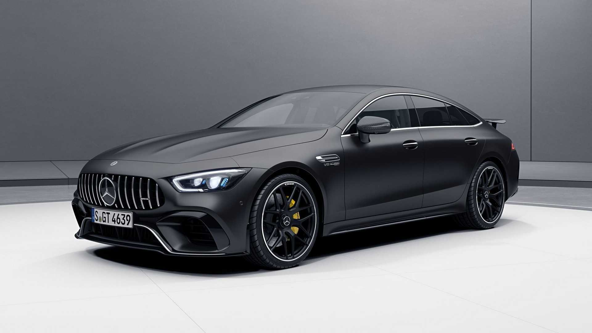 Mercedes Amg Mercedes Amg Gt 4 Door Coupe Now Available With Amg Aerodynamic