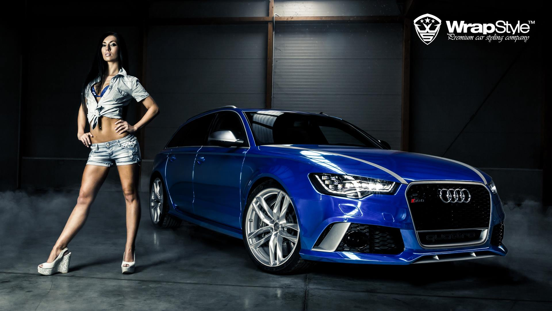 Wallpapers Hd Joker Audi Rs6 Quot Joker Quot Wrapped In Blue Chrome Autoevolution