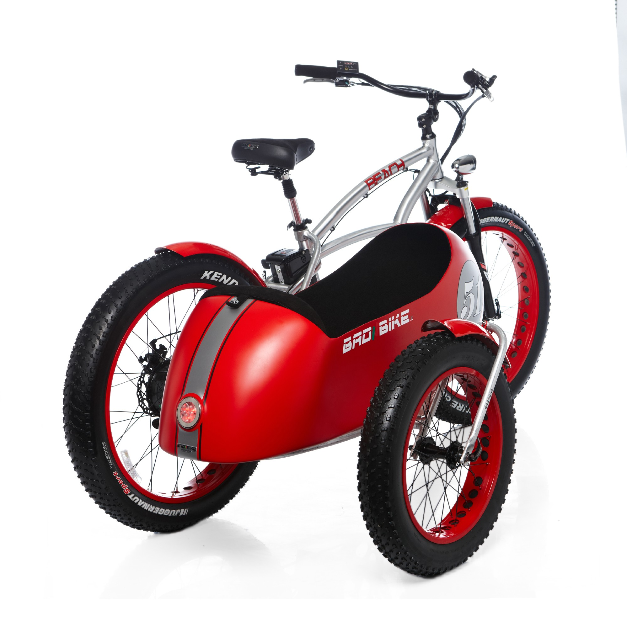 Bad Bike Beach Vintage Side Bad Bike Beach Vintage Fat The Electric Sidecar Bicycle