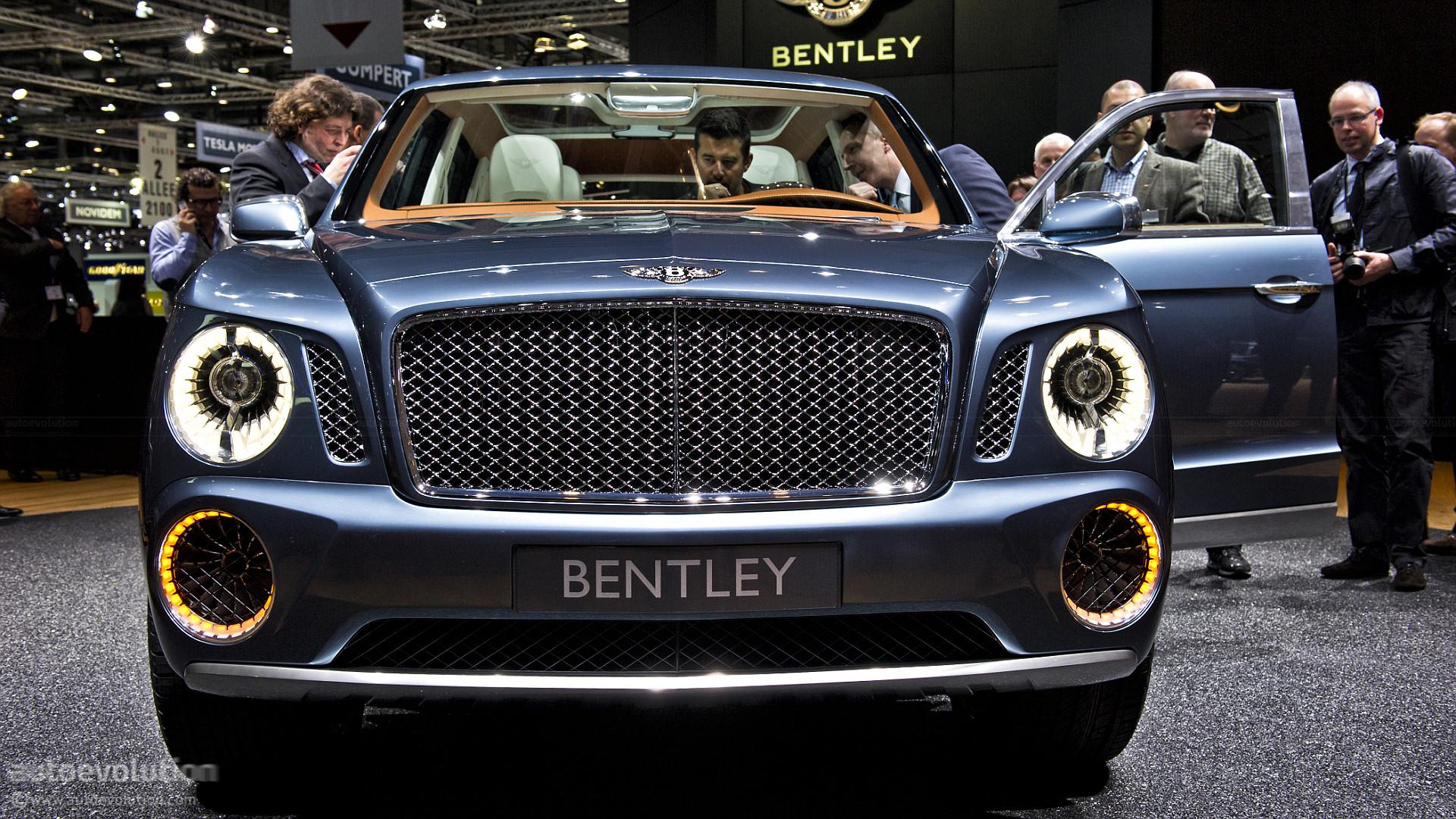 Bentley Car Logo Wallpapers Bentley Suv Gets Production Green Light Autoevolution