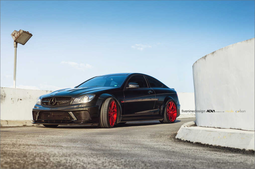 Car Tire Wallpaper Black Series C63 Amg Gets Mode Carbon Treatment