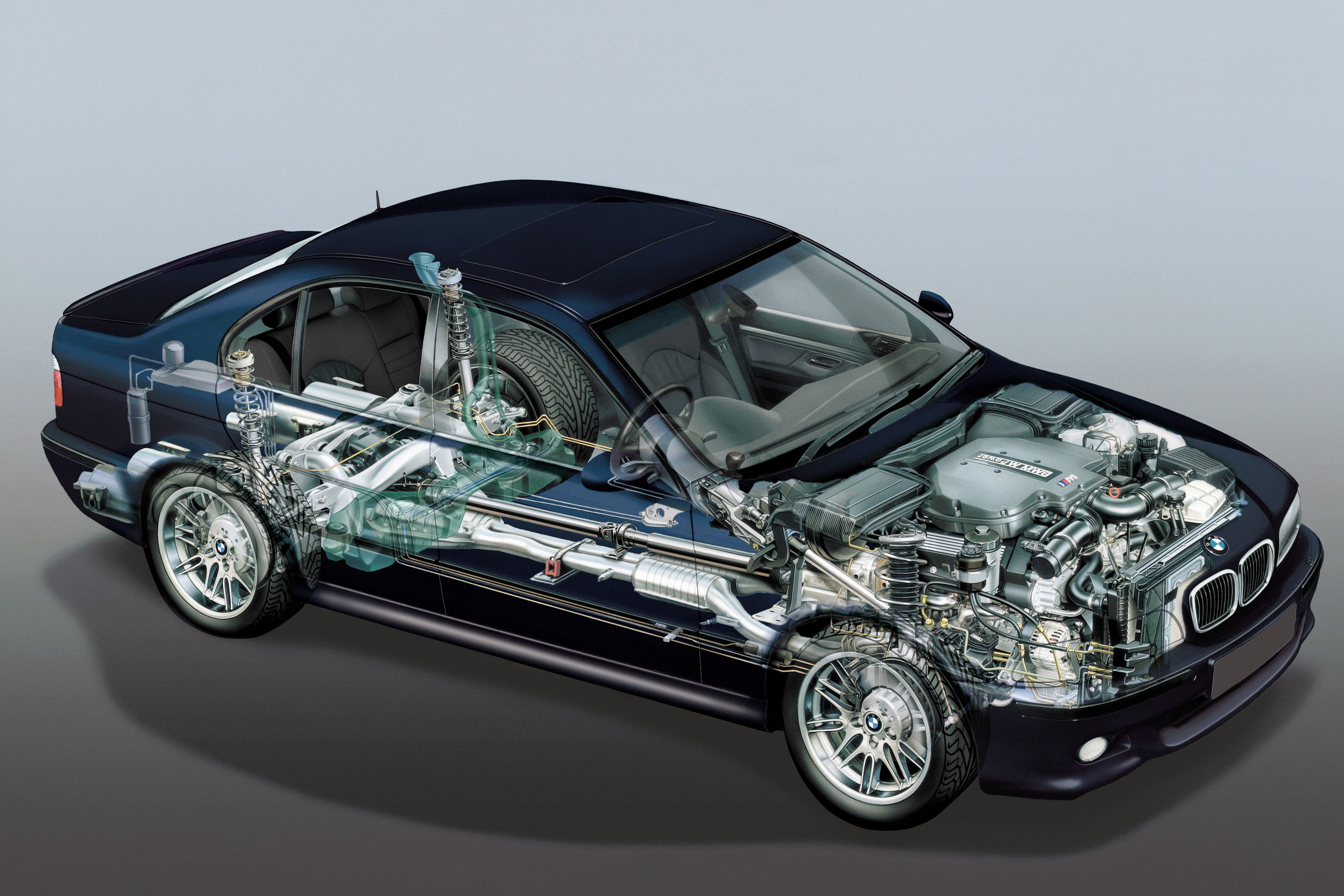 Best Car Wallpapers Ever Bmw Cutaway Illustrations Are Everything You Ever Wanted