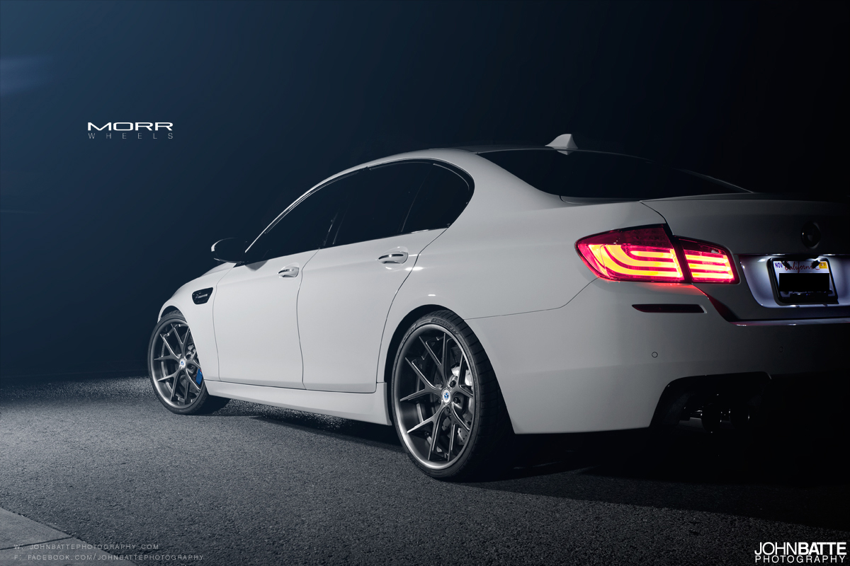 Black And Red Cars Wallpaper Bmw F10 M5 On 21 Quot Morr Multiforged Ms5 2 Autoevolution