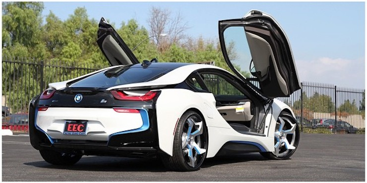 Audi Car Hd Wallpapers 1080p Bmw I8 On Forgiato Wheels Yay Or Nay Autoevolution