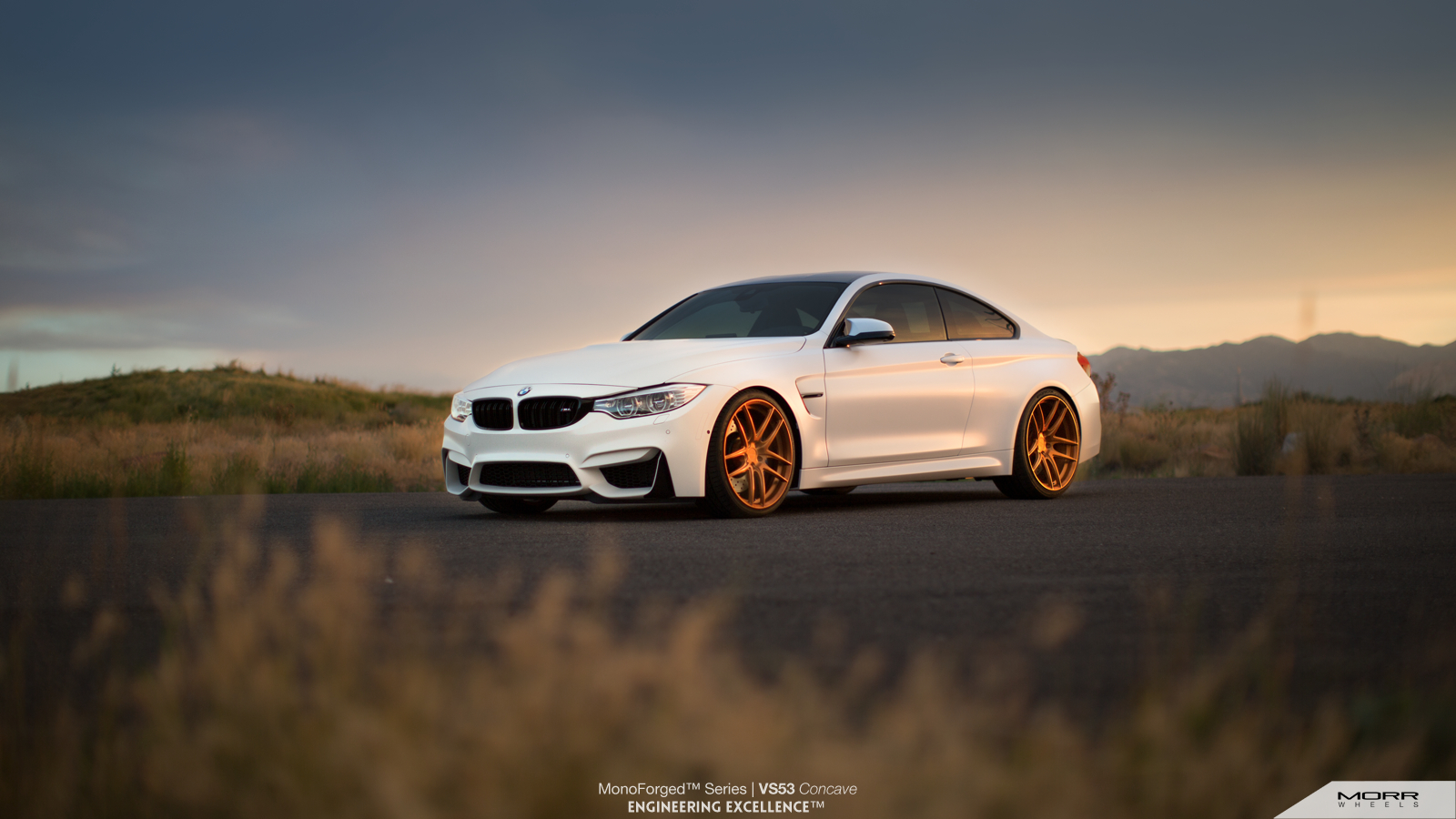 Police Car Wallpaper Hd Bmw M4 Looking Sharp On Morr Wheels With M Performance