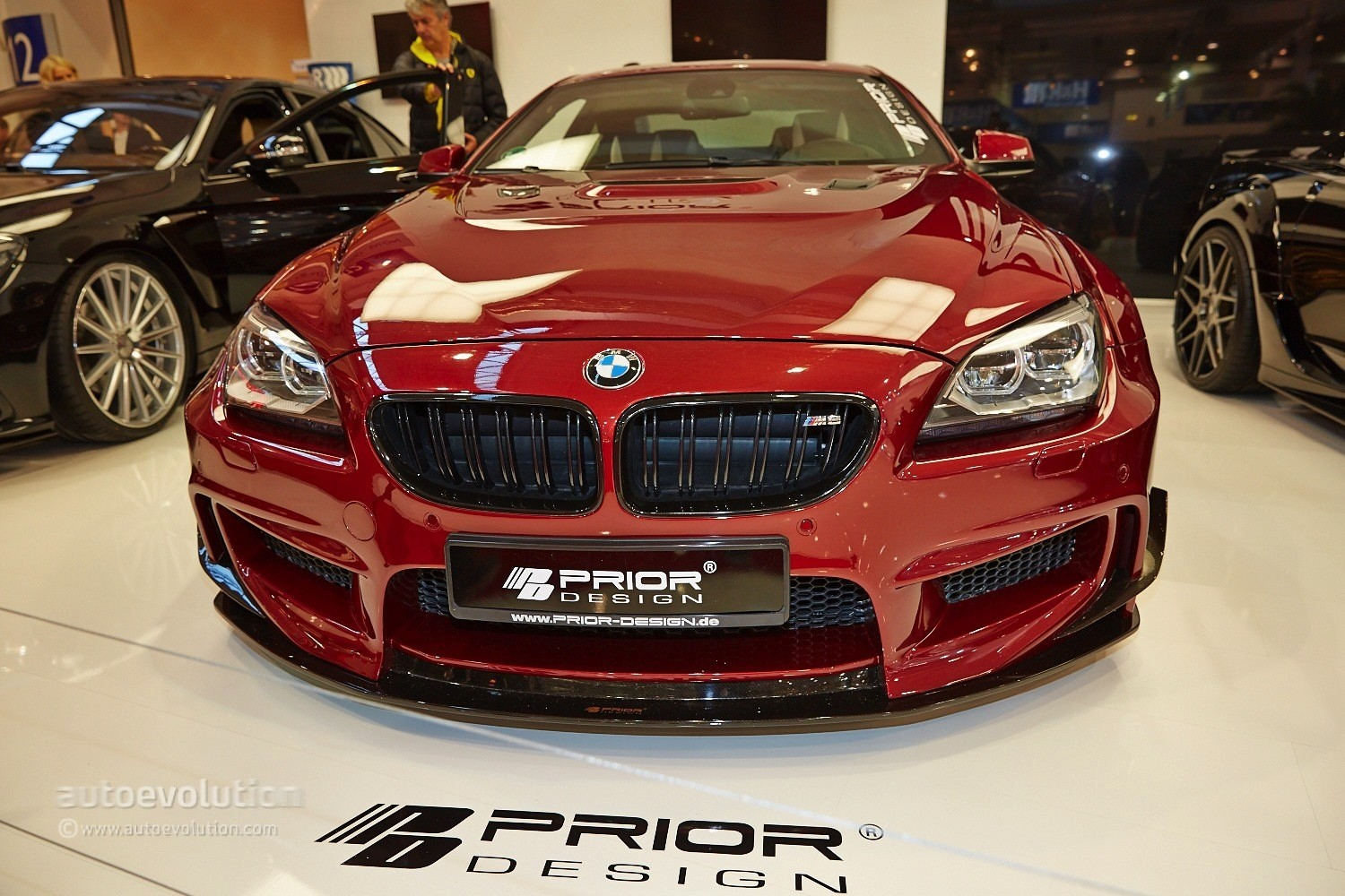 Design Automobile Essen Bmw M6 With A Quilted Interior Belongs To Prior Design At