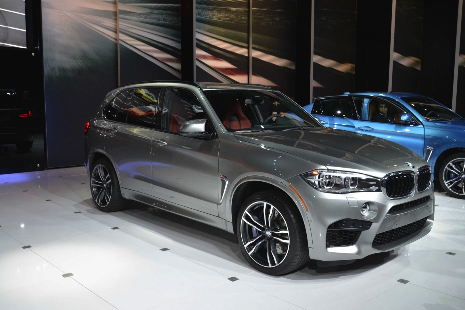 Bmw X5m Wallpaper Hd Bmw X5 M And X6 M Show Up In La With New Colors Live