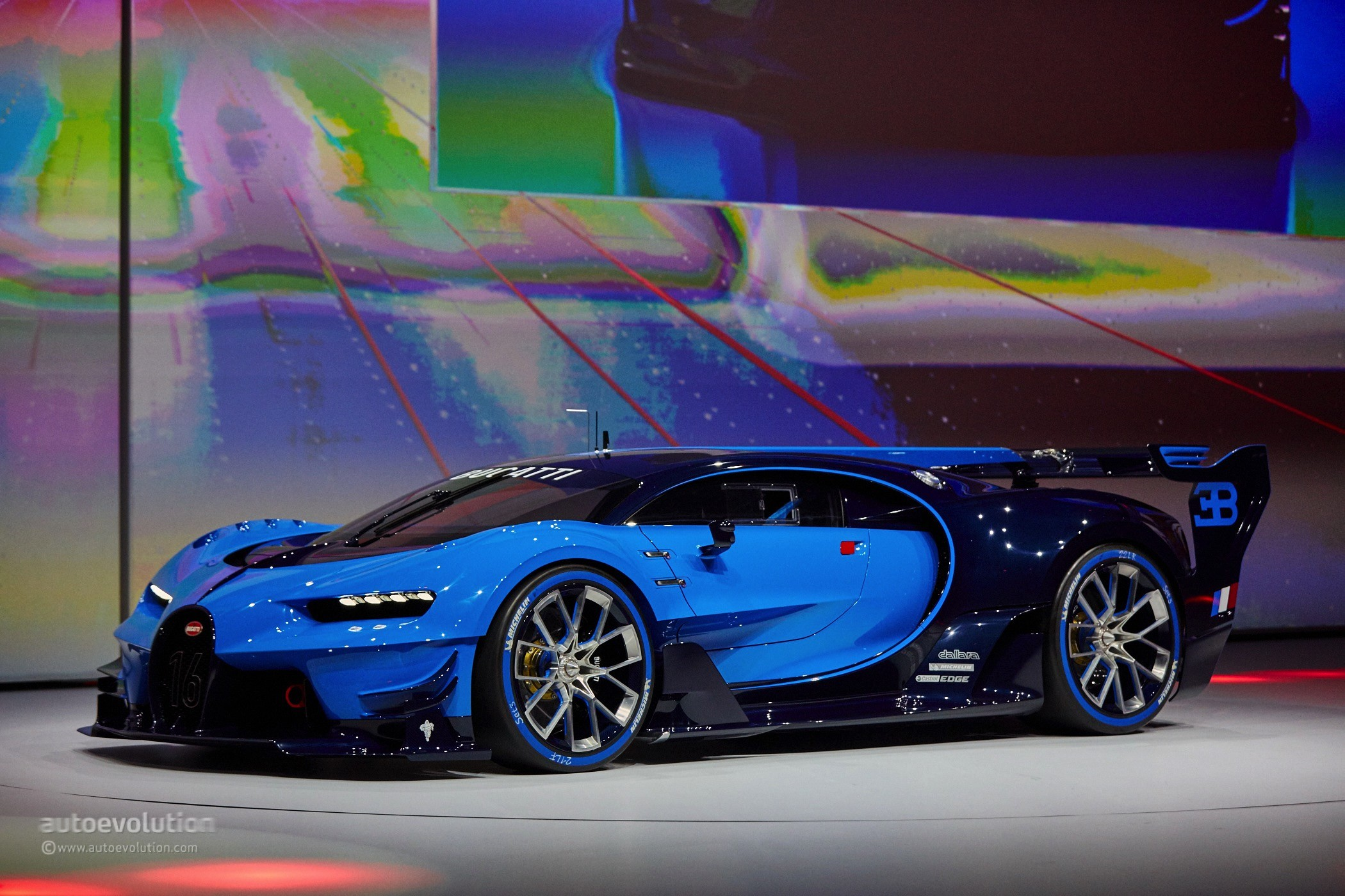 2017 Ford Gt Hd Wallpaper Bugatti Vision Gran Turismo Is Far From The Chiron We