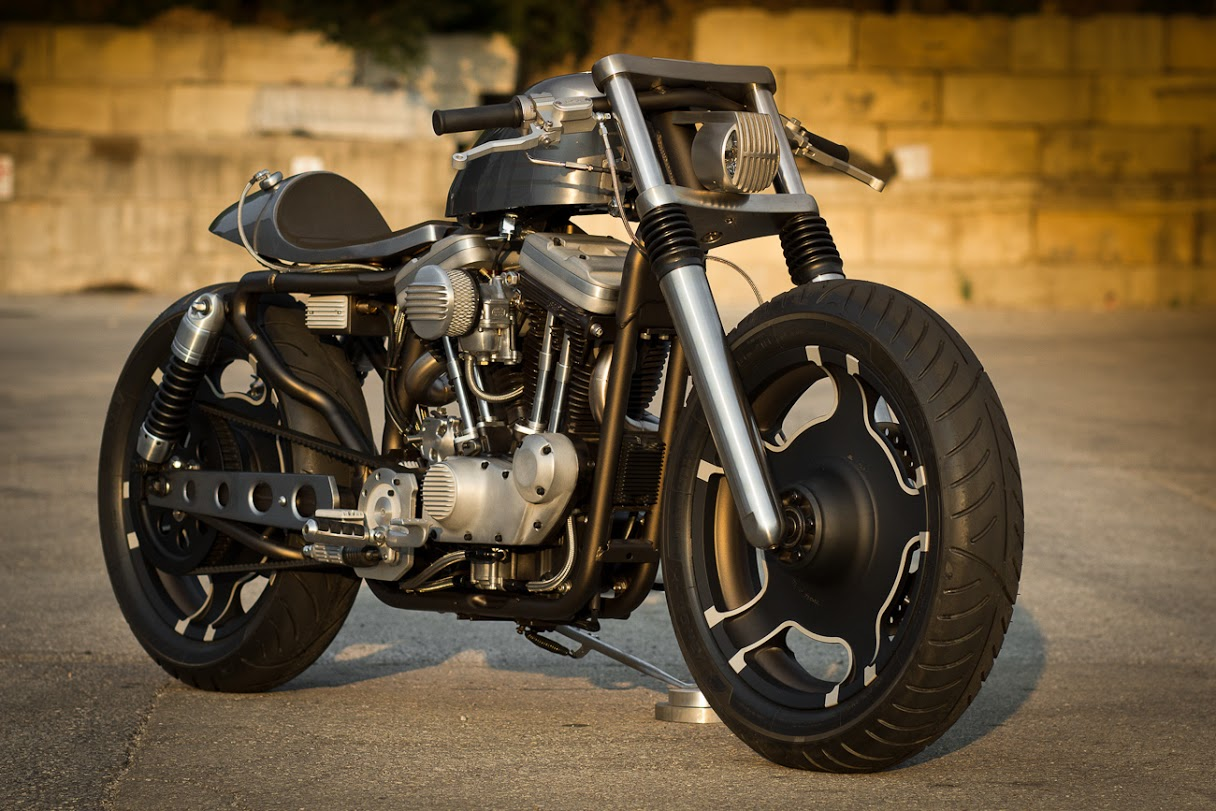 Royal Enfield Cafe Racer Hd Wallpaper Bull Motorcycles Ultra Awesome Harley Davidson Sportster
