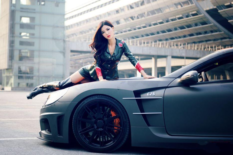 Beautiful 3d Wallpapers For Windows 7 Carlsson C25 Mercedes Sl65 Amg And Chinese Latex Babe