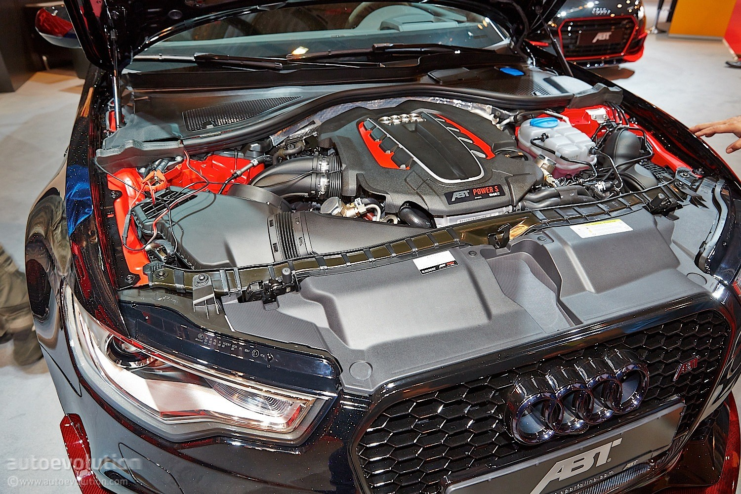 Car Engine Live Wallpaper Darth Vader S Audi Rs6 R By Abt Invades Essen 2014 With