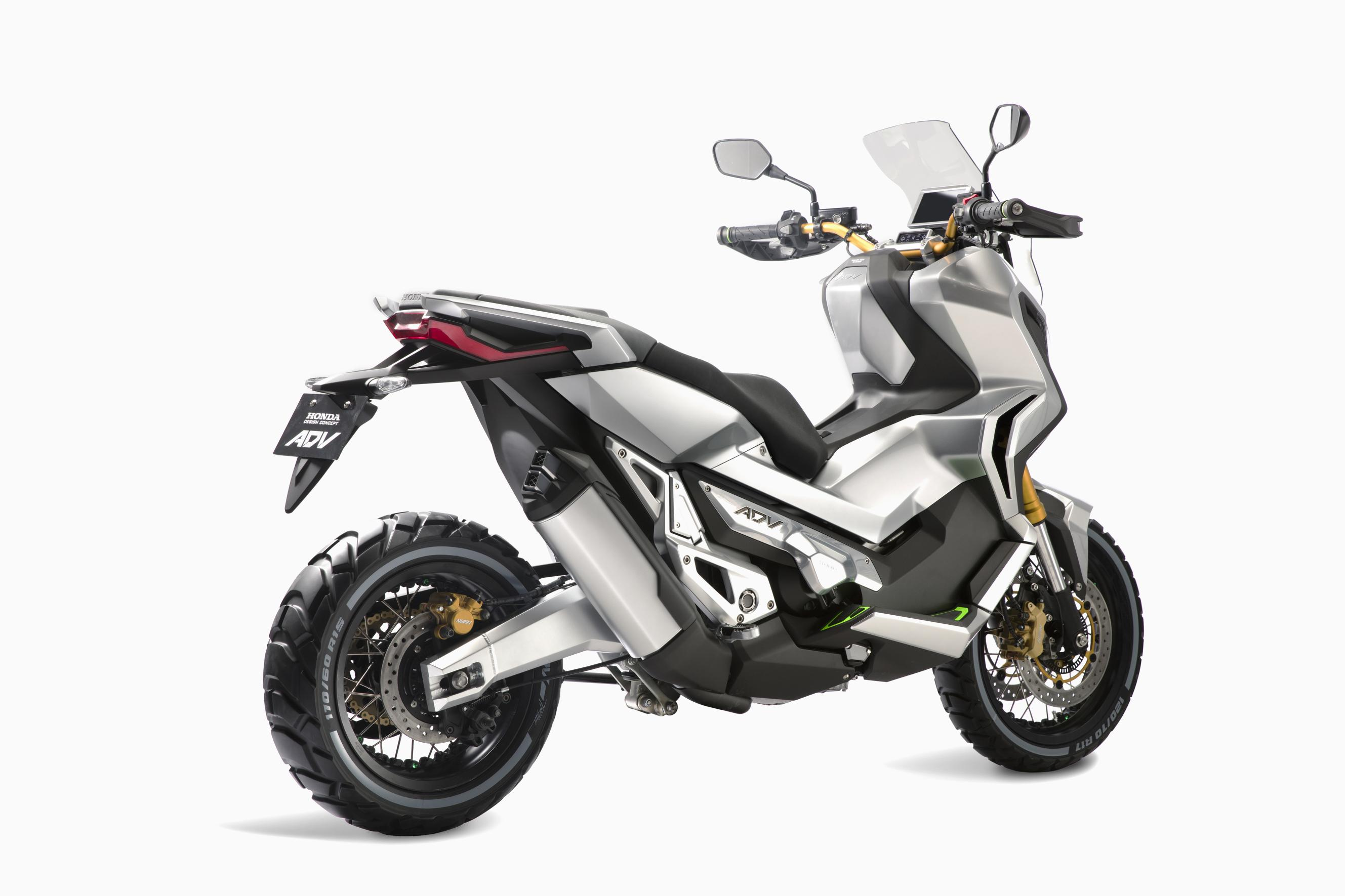 Honda Motorcycle Scooter 2017 Eicma 2015 Honda City Adventure Concept Previews Future