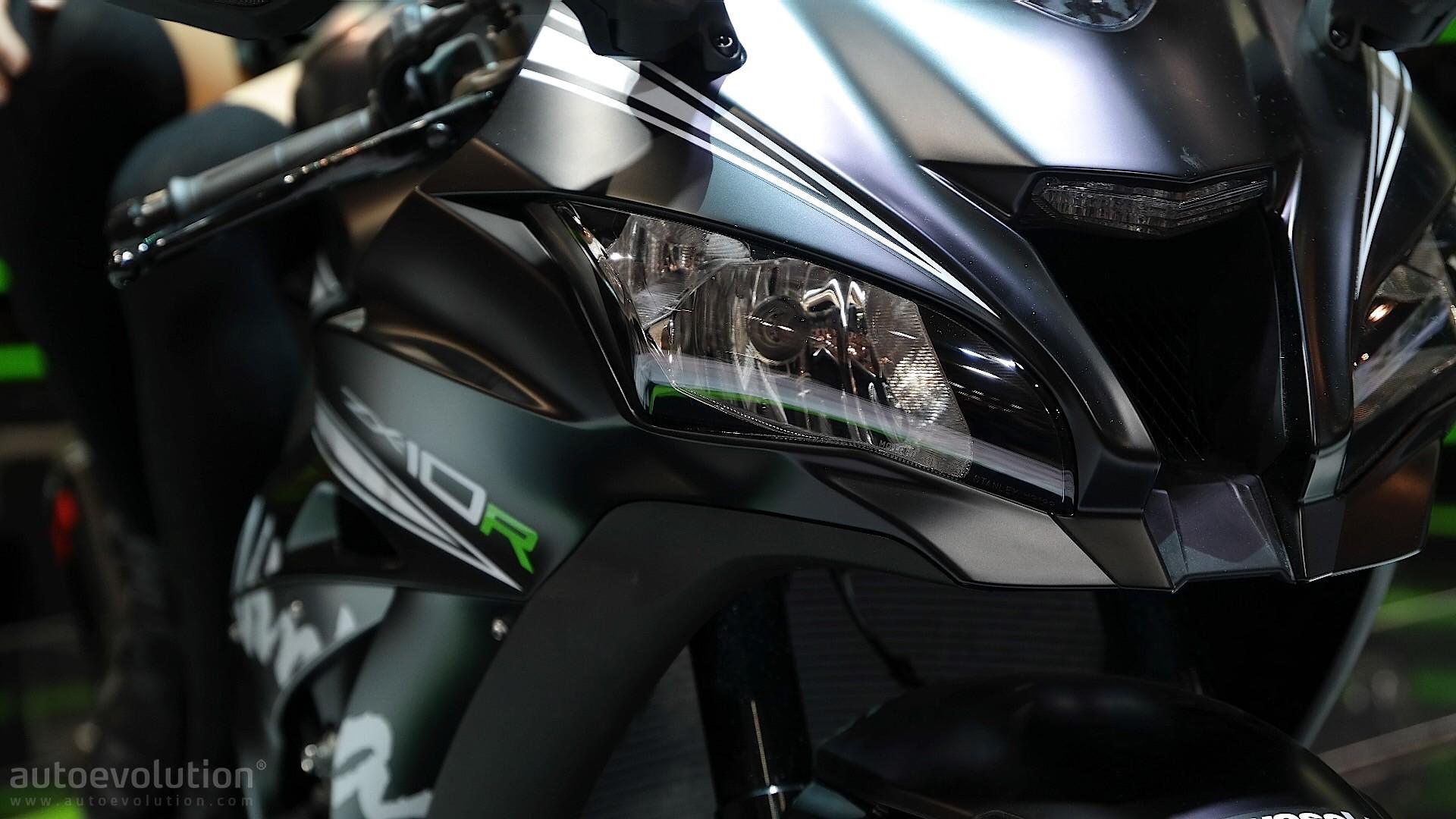 Kawasaki Wallpaper Hd Eicma 2016 Kawasaki Ninja Zx 10r And Krt Replica Pack 210