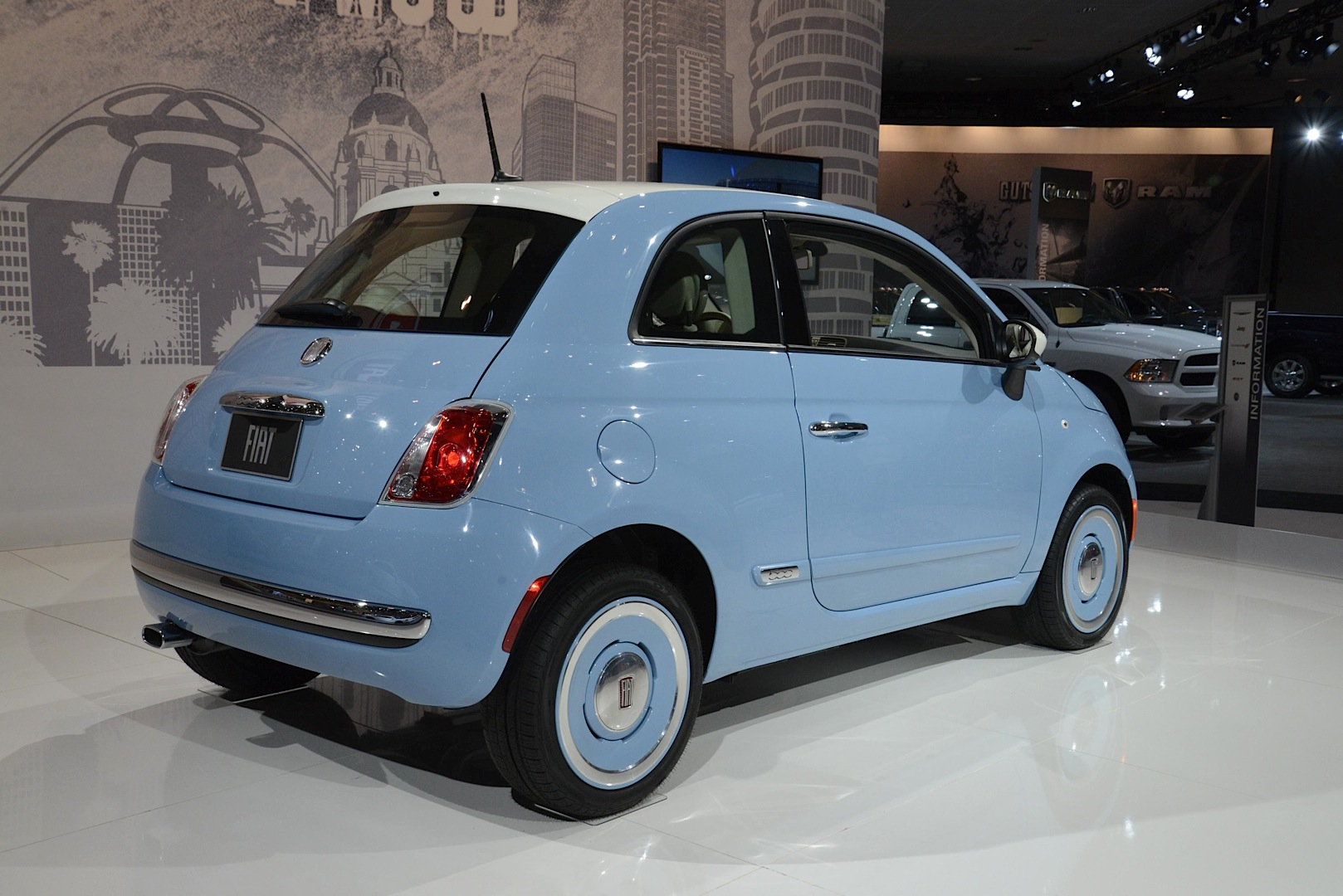 Fiat 500 Retro Embarrassing New Fiat 500 Vintage 3957 Edition Is Actually