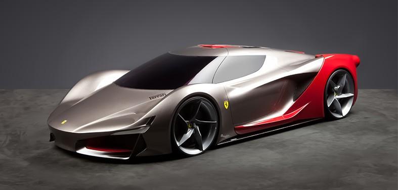 Wallpaper Korea 3d Ferrari Wants You To Choose How Its 2040 Supercars Will
