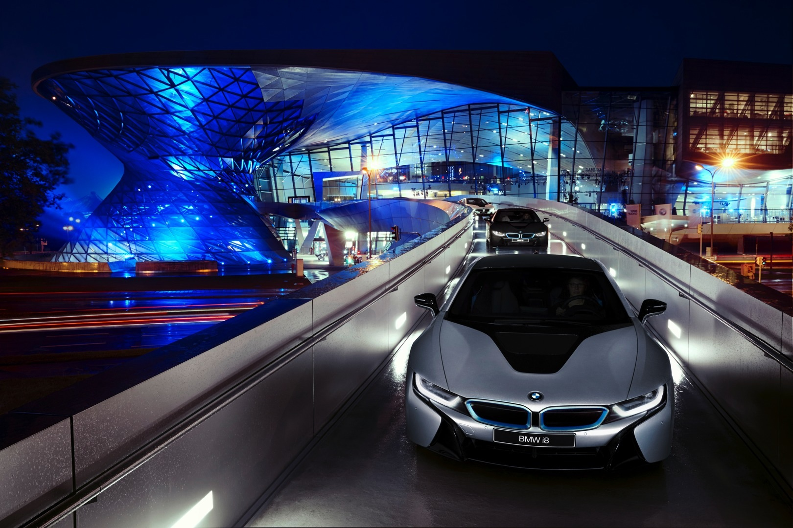 Audi Concept Car Wallpaper First Bmw I8s Delivered At Welt Museum Laser Headlight