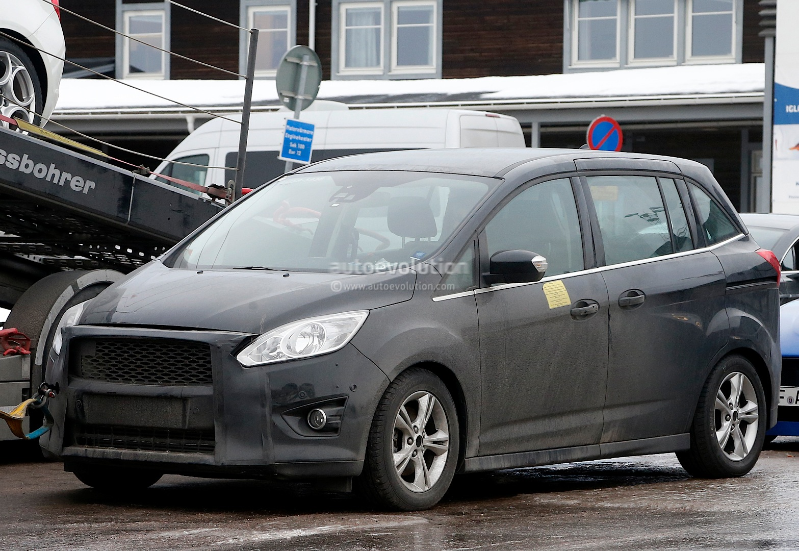Ford C Max Automatic Problems Ford C Max Facelift Prototype Breaks Down During Testing