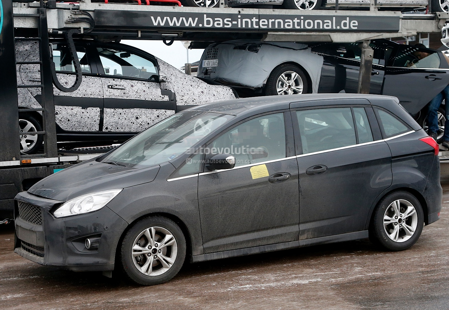 Ford C Max Automatic Problems Spyshots 2016 Ford C Max Facelift Updated
