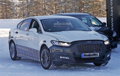 2017 Ford Mondeo Facelift Spyshots Reveal Refreshed Lights ...