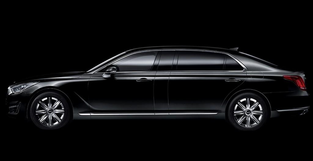 Limousine Car Wallpaper Genesis Eq900l Genesis G90l One Ups The Daddy Of Full