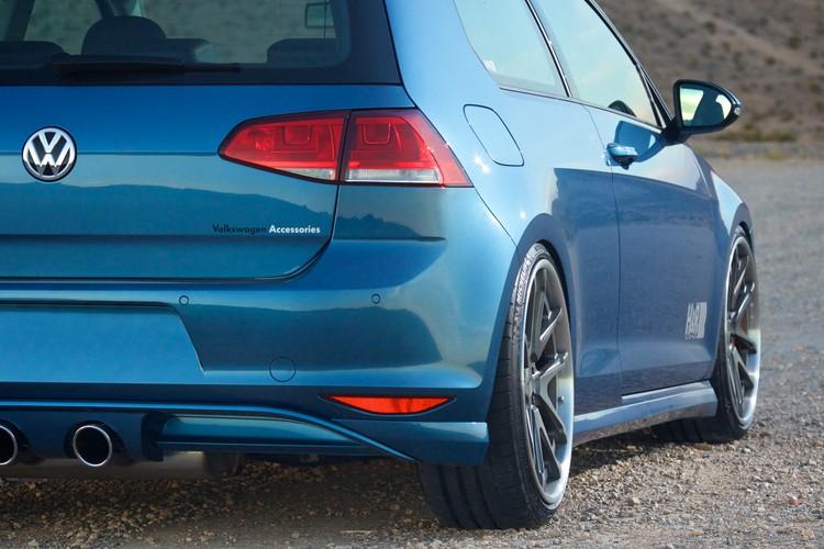 Tuner Car Wallpaper Hd H Amp R Slams The 2015 Vw Golf For Sema Autoevolution