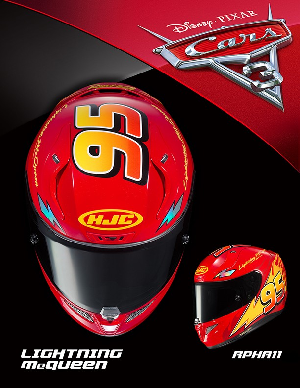 Star Wars Animated Wallpaper Hjc Adds Pixar Cars 3 Themed Helmets To The Bunch Disney