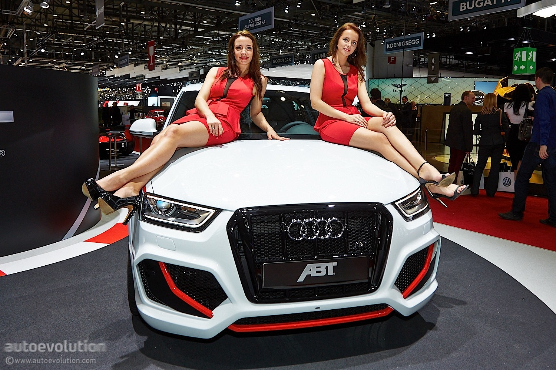 Audi S3 Wallpaper Girl Hot Girls Of Geneva 2014 Live Photos Autoevolution