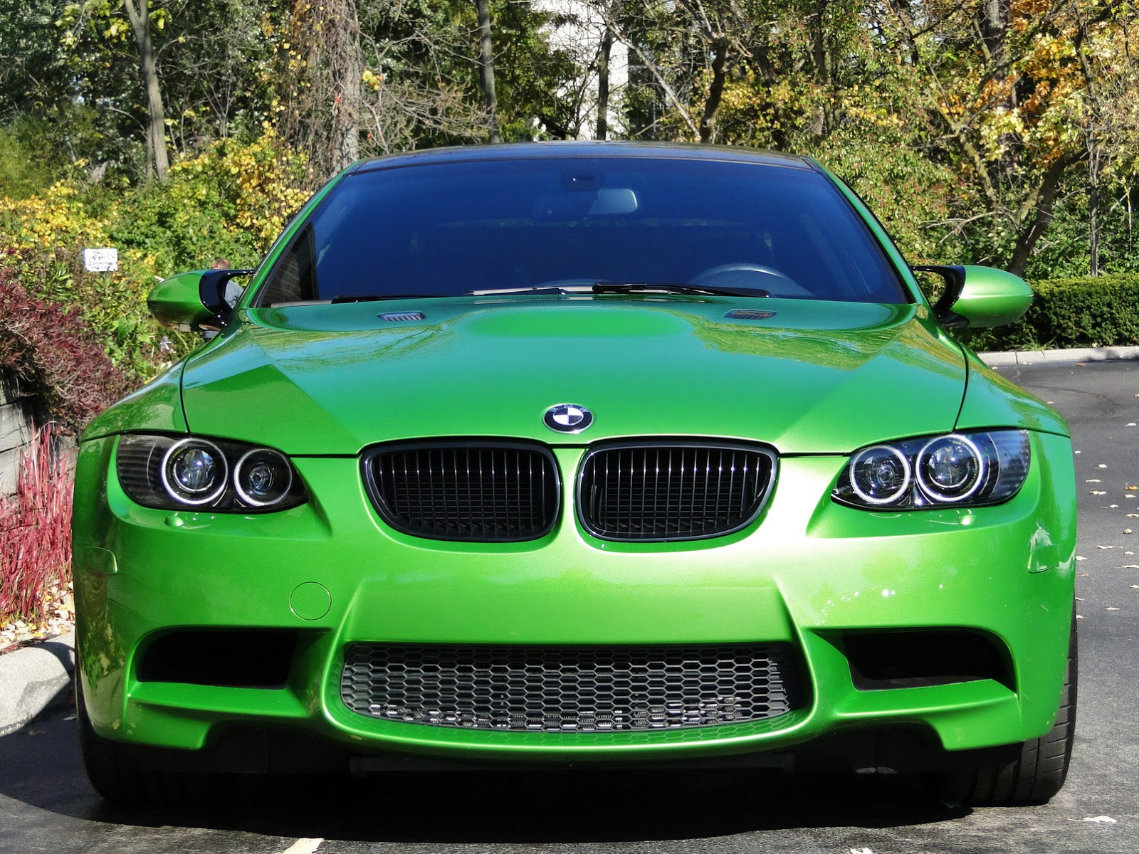 How To Put A Wallpaper On Your Car Individual Java Green Bmw E92 M3 Up For Sale Autoevolution