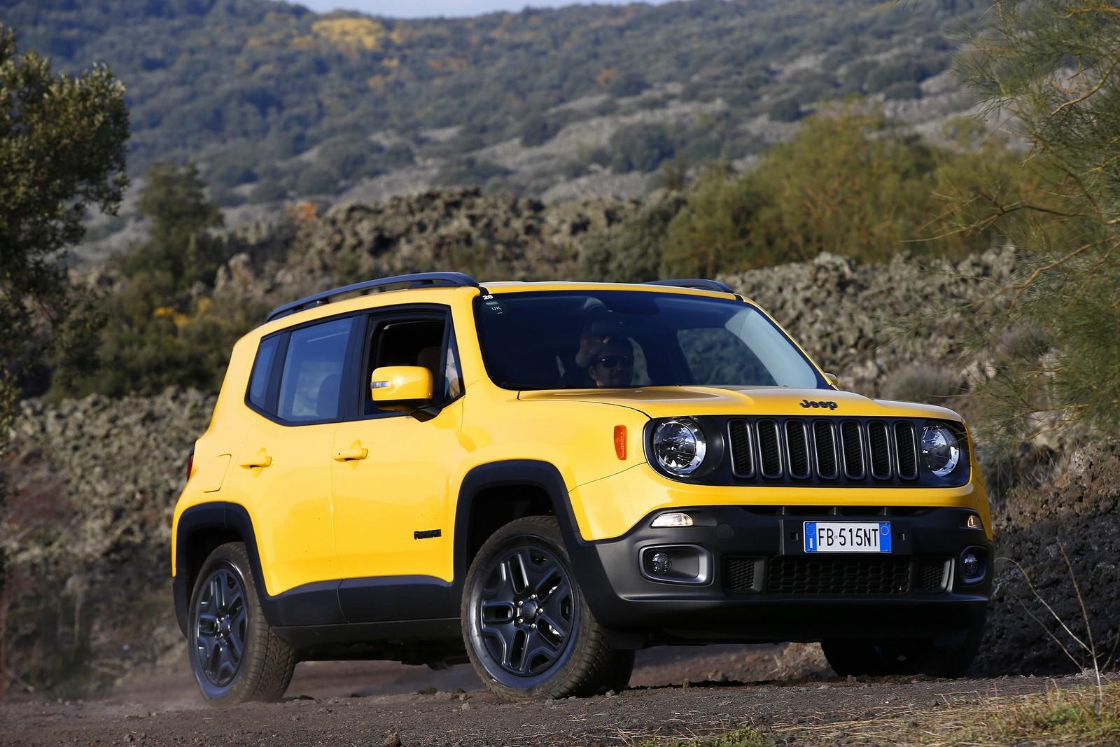 Car Brand Logos Wallpaper Jeep Renegade Receives Night Eagle Special Edition