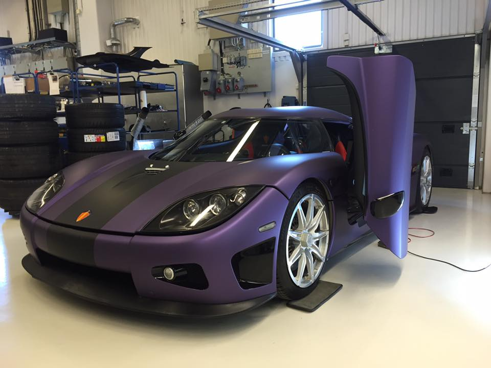 Ccx Car Wallpaper Koenigsegg S Tribute To Prince Is A Ccxr Wrapped In Purple