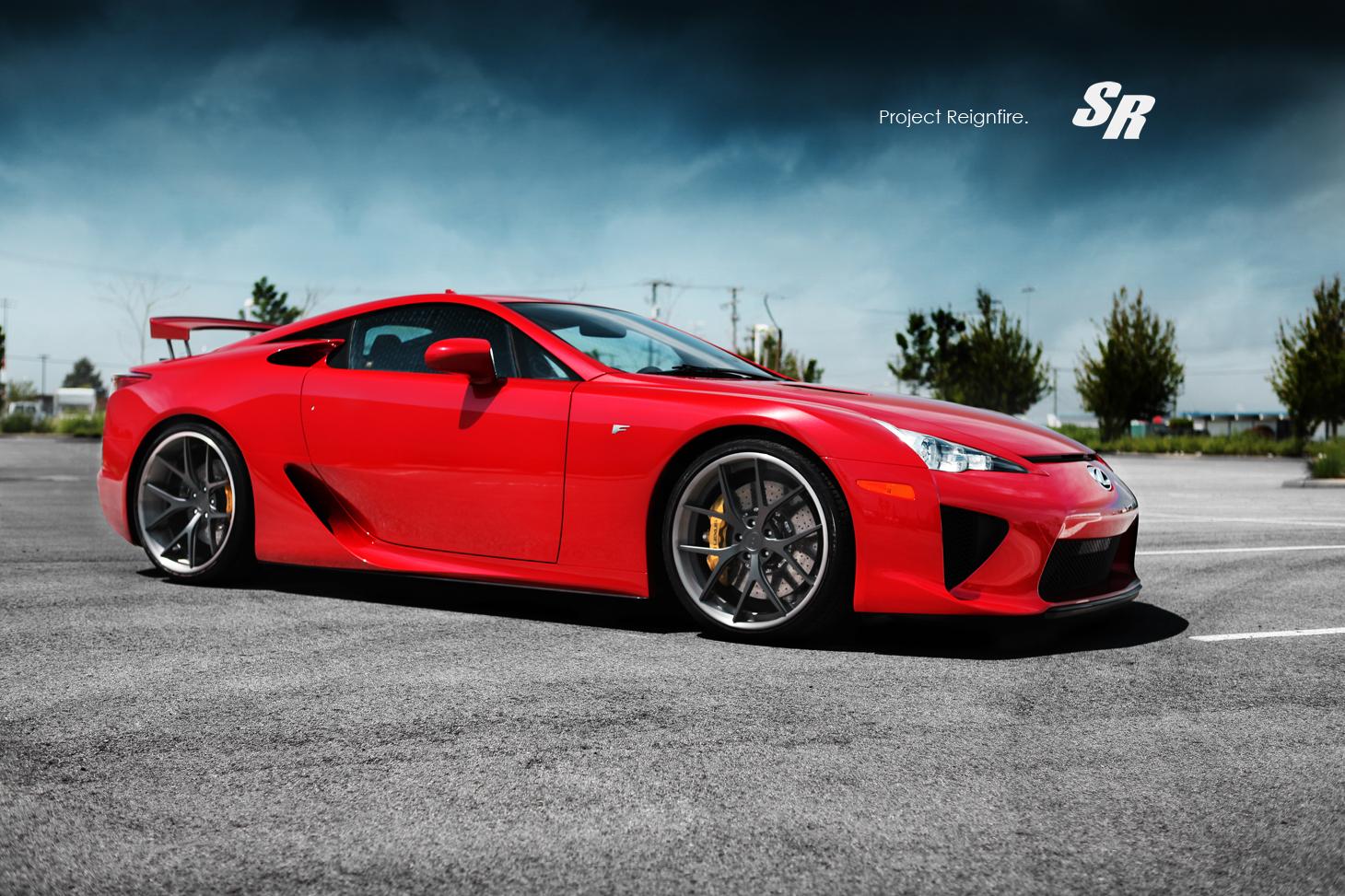 Vw Wallpaper Hd Lexus Lfa On Pur Wheels Autoevolution