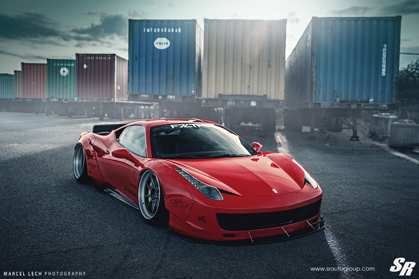 Sick Car Wallpapers Liberty Walk Ferrari 458 Italia On Pur Wheels Italian