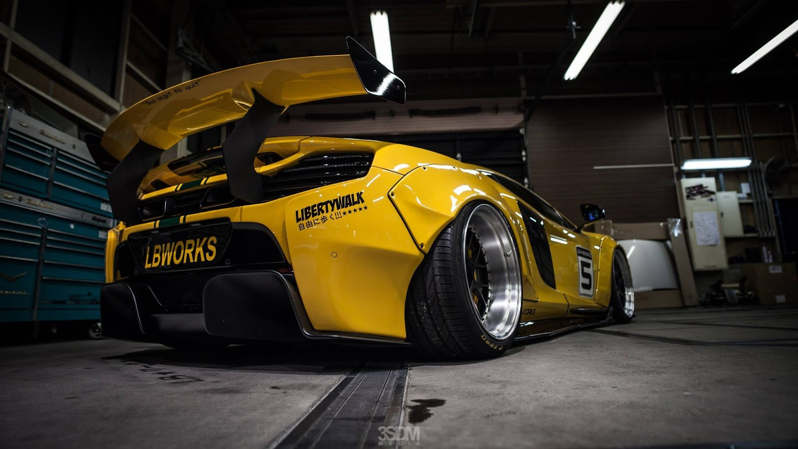 Car Wallpapers Mclaren P1 Liberty Walk Bugatti Veyron Is Not Impossible Autoevolution