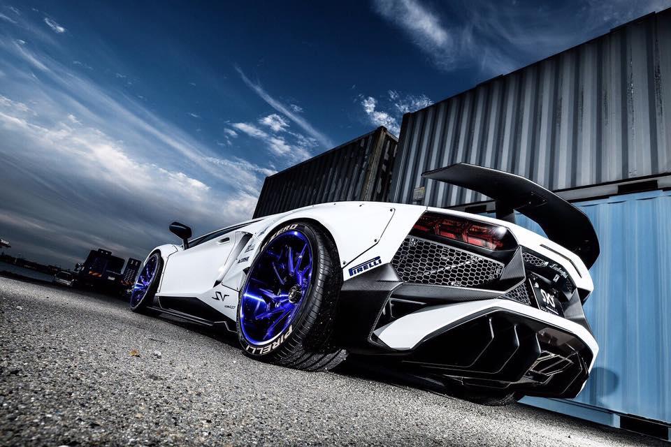 Gtr Car Hd Wallpaper Liberty Walk Widebody Lamborghini Aventador Sv Is Insane