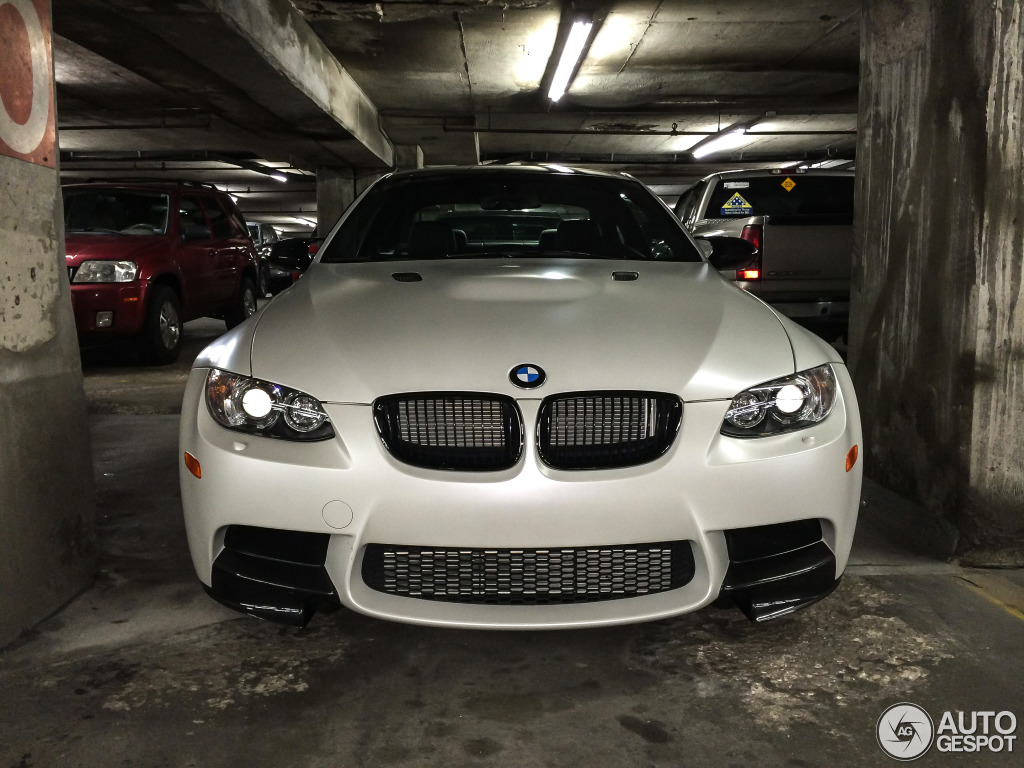 Full Hd Motorcycle Wallpaper Limited Edition Frozen White Bmw E92 M3 Spotted In Kansas