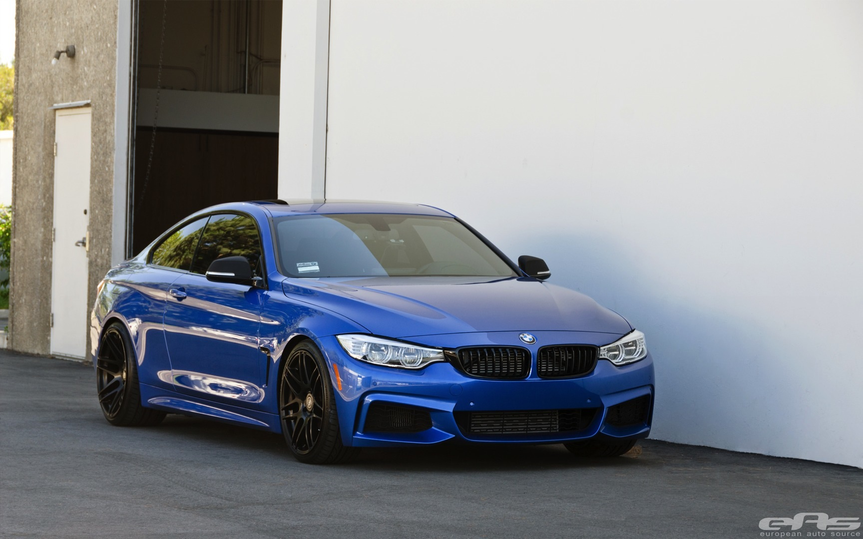 Hd Tune Up Cars Wallpaper Lowered Estoril Blue Bmw 435i Is Just Right Autoevolution