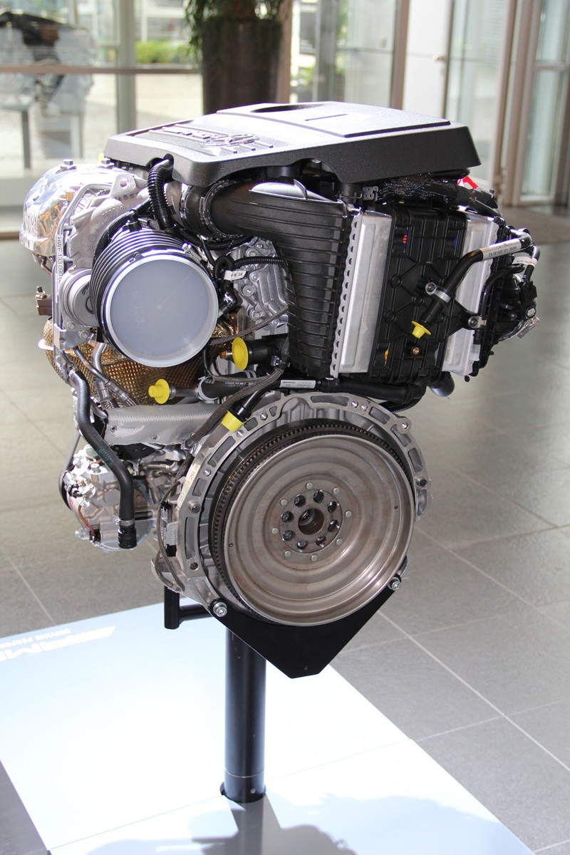 Sport Matte M133 – The First Four-cylinder Turbo Mercedes-amg Engine