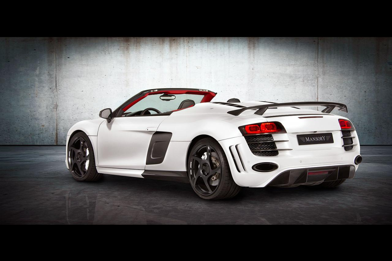 S4 Car Wallpaper Mansory Audi R8 V10 Spyder Autoevolution