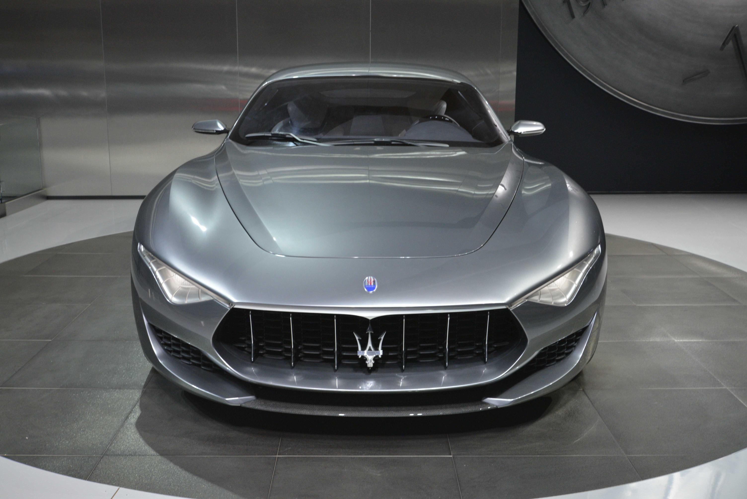 Matte Black Wallpaper Maserati Alfieri Coupe Delayed Until 2018 New Granturismo