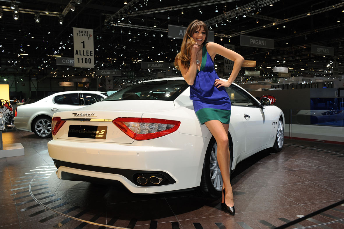 Fast And Furious 4 Cars Wallpapers Maserati Granturismo S Automatic World Debut In Geneva