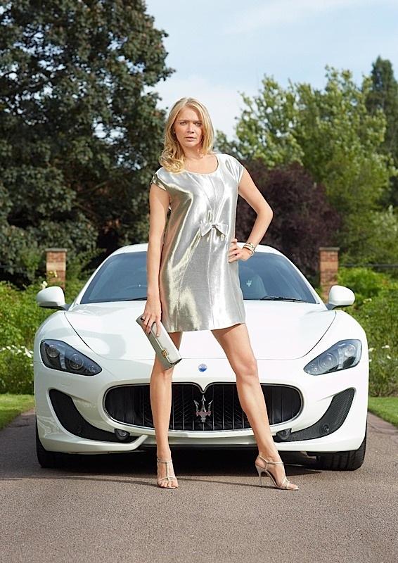 Cool Cars Wallpaper With Girls Maserati Granturismo Sport Debuts In London Uk Pricing