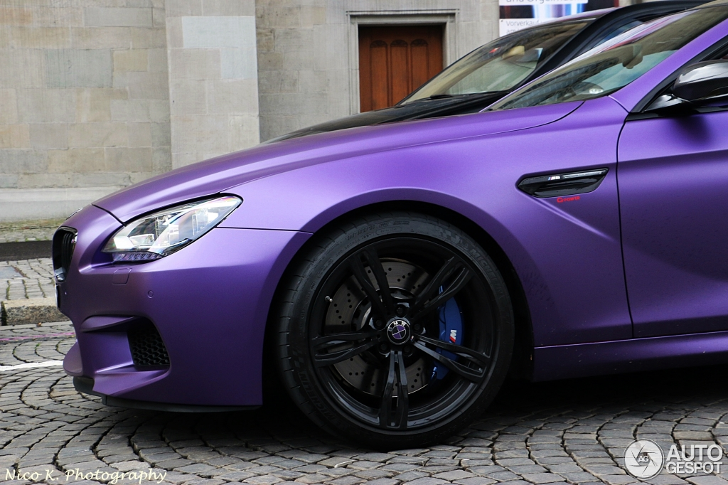 Best Car Wallpapers Ever Matt Purple Bmw M6 Tuned By G Power Hides Some Serious