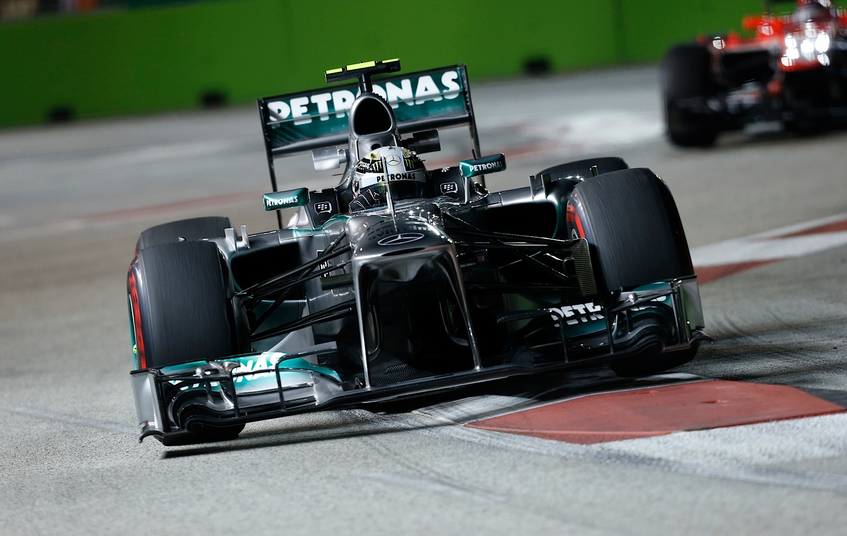 F1 Grand Prix Race Mercedes-amg Petronas Previews The 2013 Korean Grand Prix