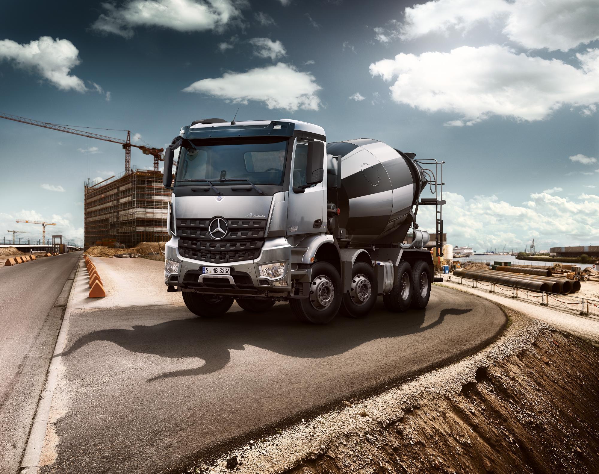 Ford Truck Hd Wallpaper Mercedes Benz Launches Arocs Truck Range Video