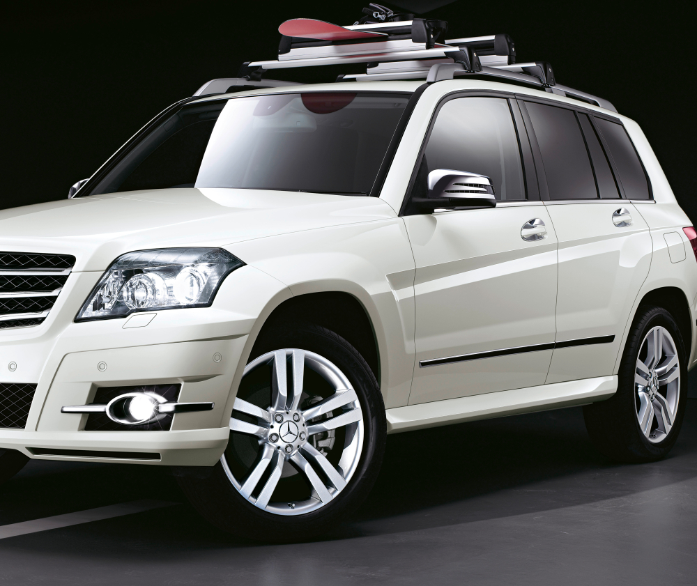 German Car Wallpaper Mercedes Presents New Glk Accessories Autoevolution