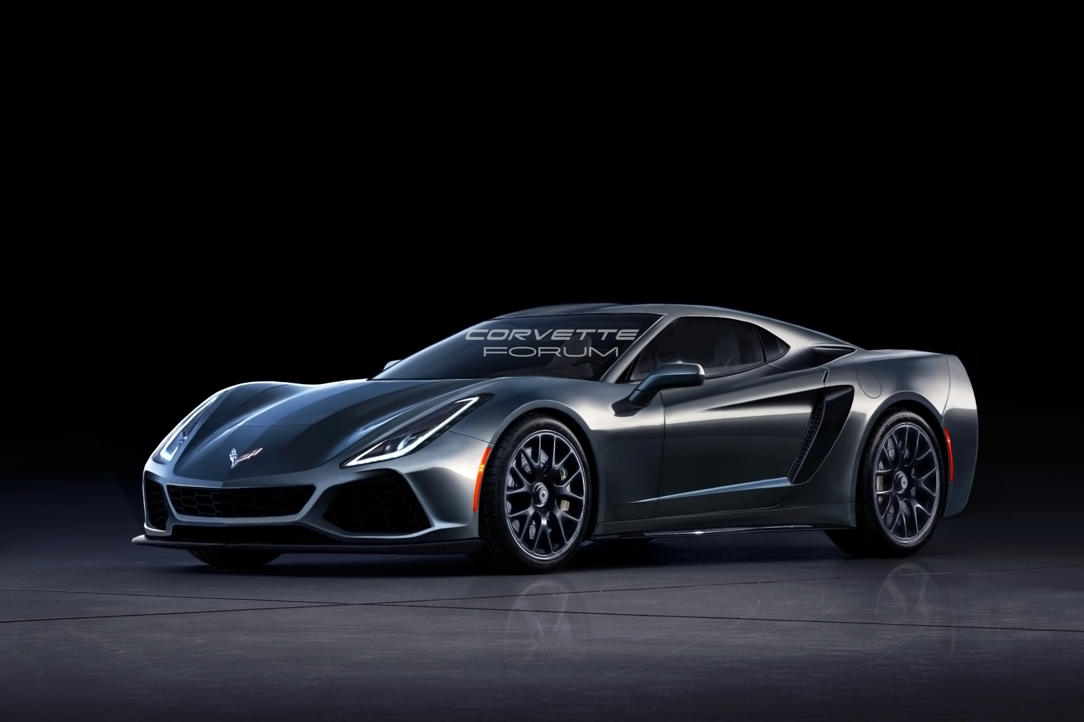 c8 corvette engine size